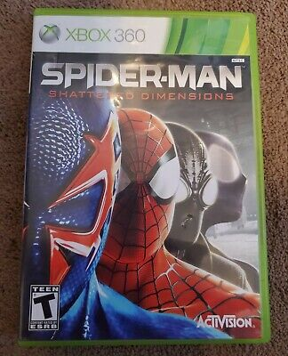 Spider-Man: Shattered Dimensions Xbox 360 Complete w/ Manual