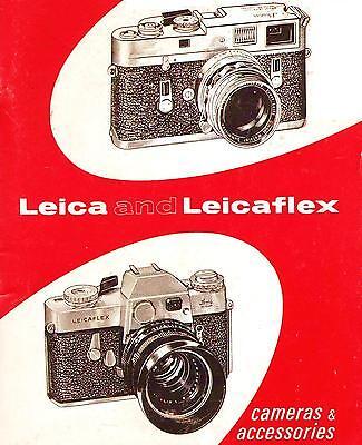 Инструкции и руководства 1967 LEICA CAMERA