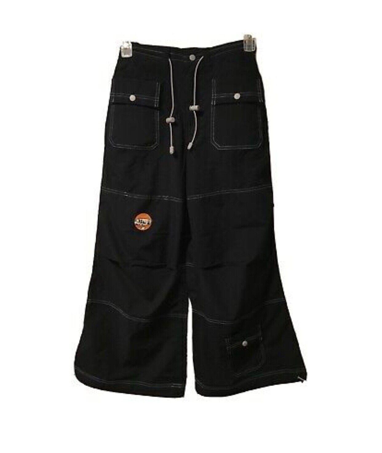 Macgirl Women's Pants Mac Raver Gear Navy Blue Wide leg NWT
