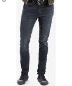 Men's Levi 510 faded black jeans