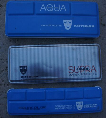 LOT KRYOLAN Aqua Color MakeUp Face Paint Palette Stage 5044 1147 1108 1108K I