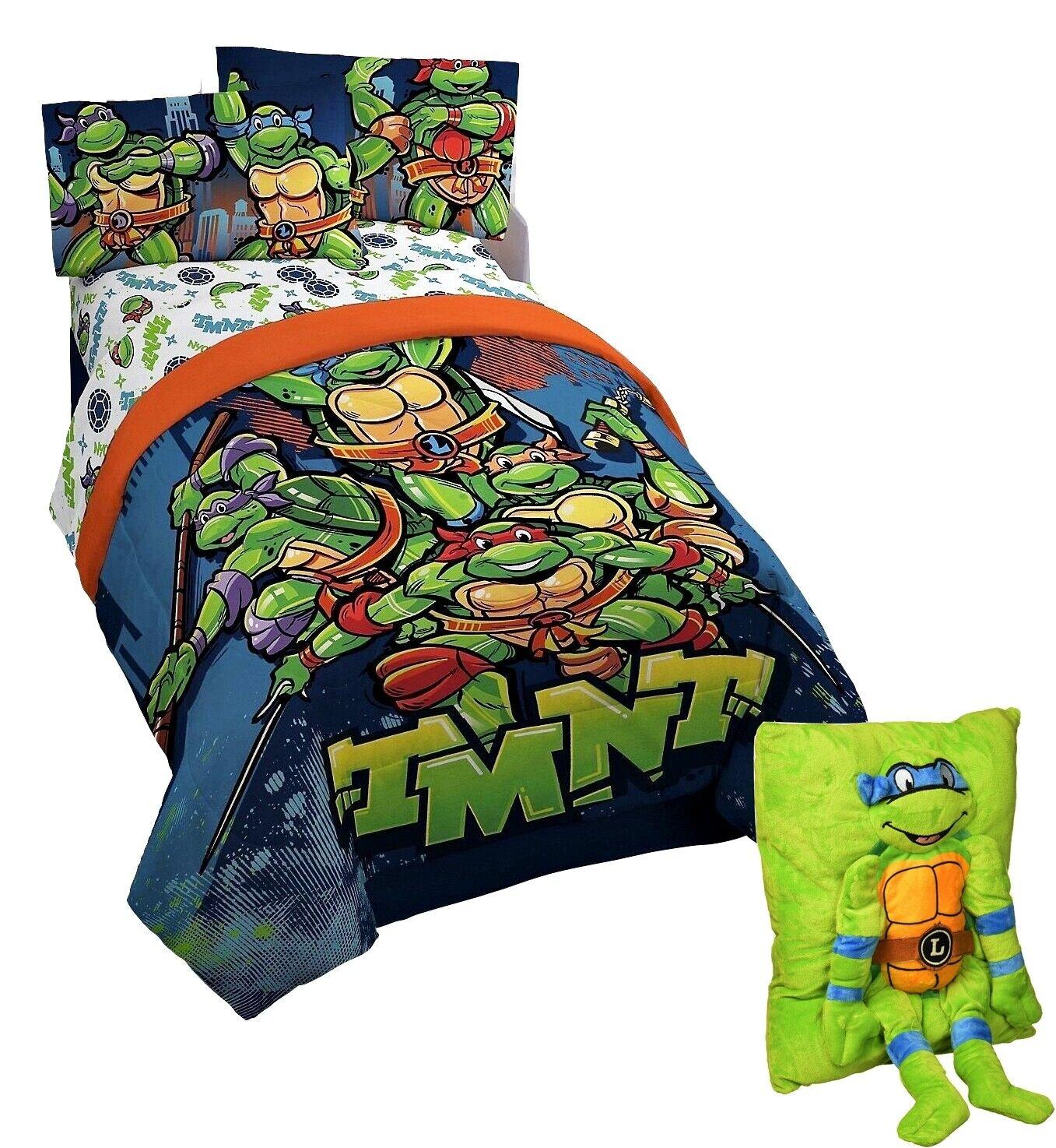 Teenage Mutant Ninja Turtles TMNT 6pc FULL Size Bedding~Comf