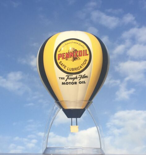Collectible PENNZOIL motor oil HOT AIR BALLOON - ADVERTISING die-cast coin BANK