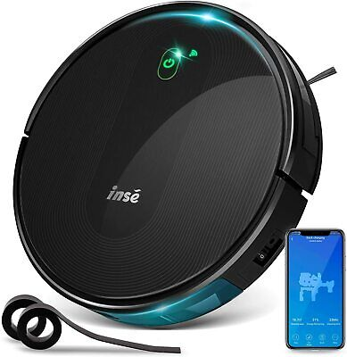 INSE Robot Vacuum Cleaner Works with Alexa, App Controls,Smart Path Planning Hot