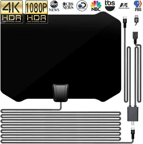 2020 New TV Antenna with Amplifier Free Digital 1080P HDTV 4K Indoor Amplified