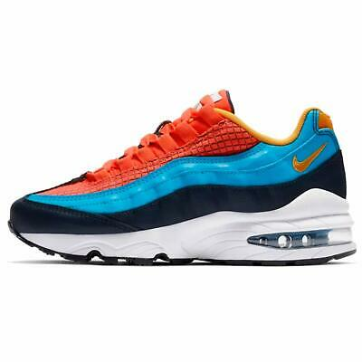 Nike Air Max 95 NOW GS CRIMSON RED BLUE YELLOW MULTICOLOR