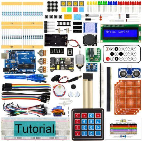 Freenove Ultimate Starter Kit FNK0017 V2.0 Control Board V4 Comp Arduino IDE