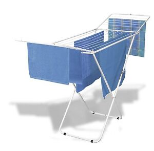 New!! Wire World Vulcano Dryer, White air drying laundry rack Cloth In Out door
