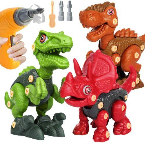 Dinosaurierset Spielzeug Dinosaurier Dinos für Jungen Kinder MÄDCHEN Geschenkset