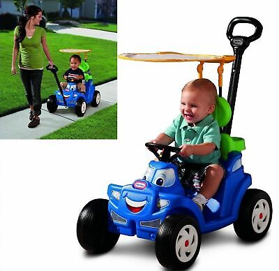 Ride On Toys For Girls/Boys Toddlers Riding 1-4 Year Old Gifts Baby 2-in-1 - Toys For 1 Year Old Girls