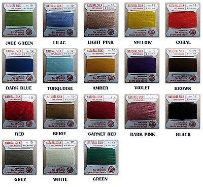 Griffin 100  Silk Cord Bead String Thread   8 10 12 14 16