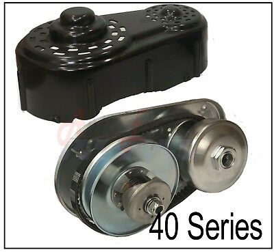 Go Kart Torque Converter Kit 40 Series Clutch Pulley Driver Driven 8 to16HP