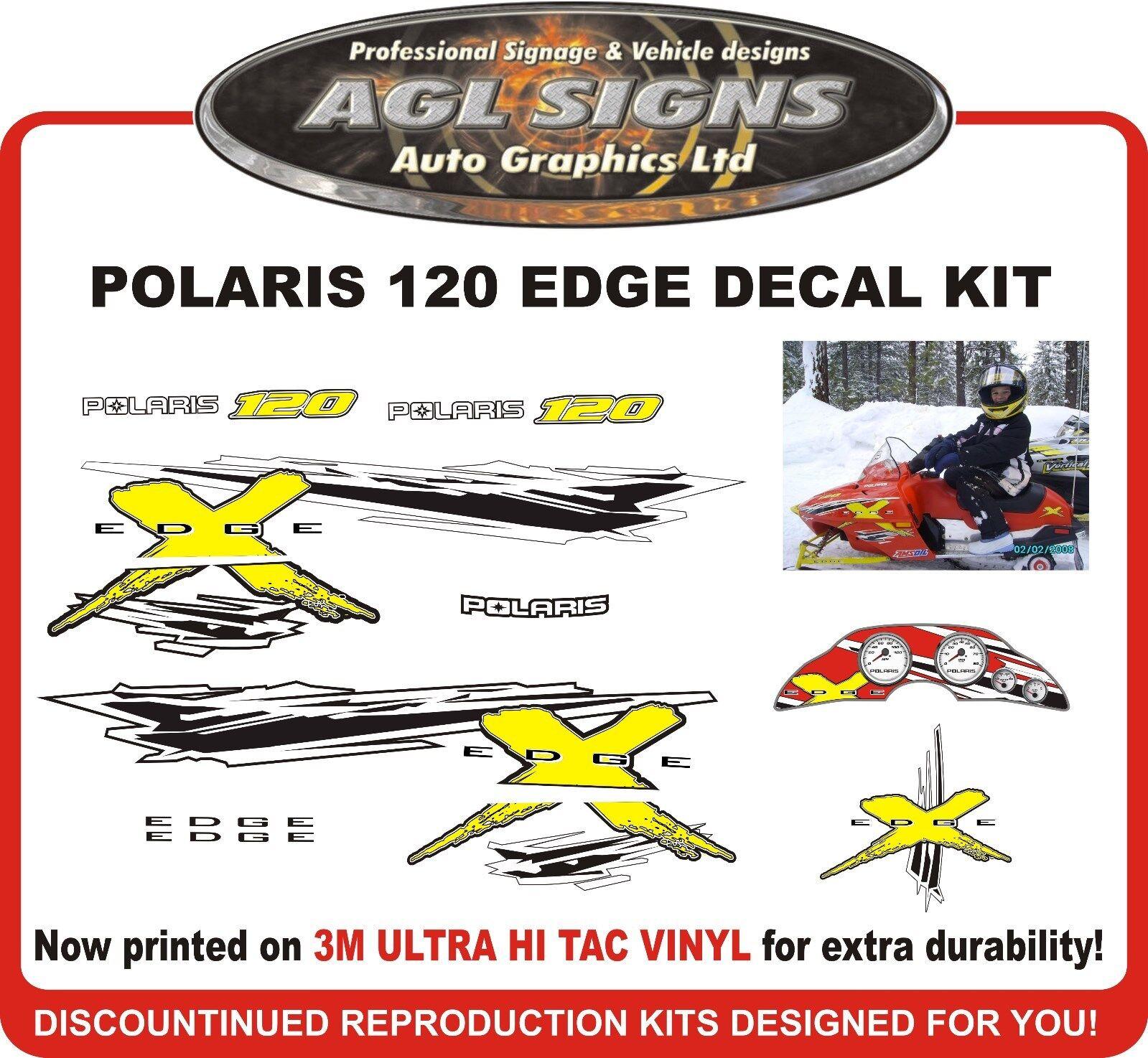POLARIS 120 XC EDGE  Reproduction Decal Kit  graphics stickers