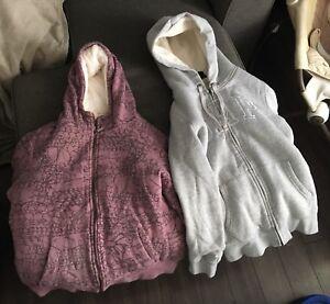 Women's fleece hoodies