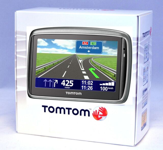 TomTom GO LIVE US Canada Automotive Mountable EBay - How to use both us and canada maps in gps