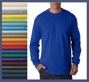 Mens tall crewneck t shirt preshrunk 100 cotton long lt for Mens xlt t shirts