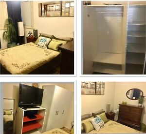 Furnished room Weekly $200,includes TV,DVD,BILLS & WIFI