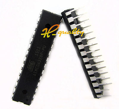Original ATMEGA328P-PU DIP-28 Microcontroller IC NEW