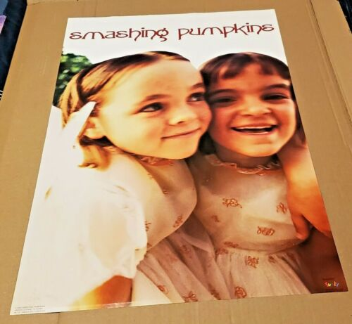 SMASHING PUMPKINS - POSTER - 1994 - MANUFACTURED AND DISTRIBUTED BY FUNKY