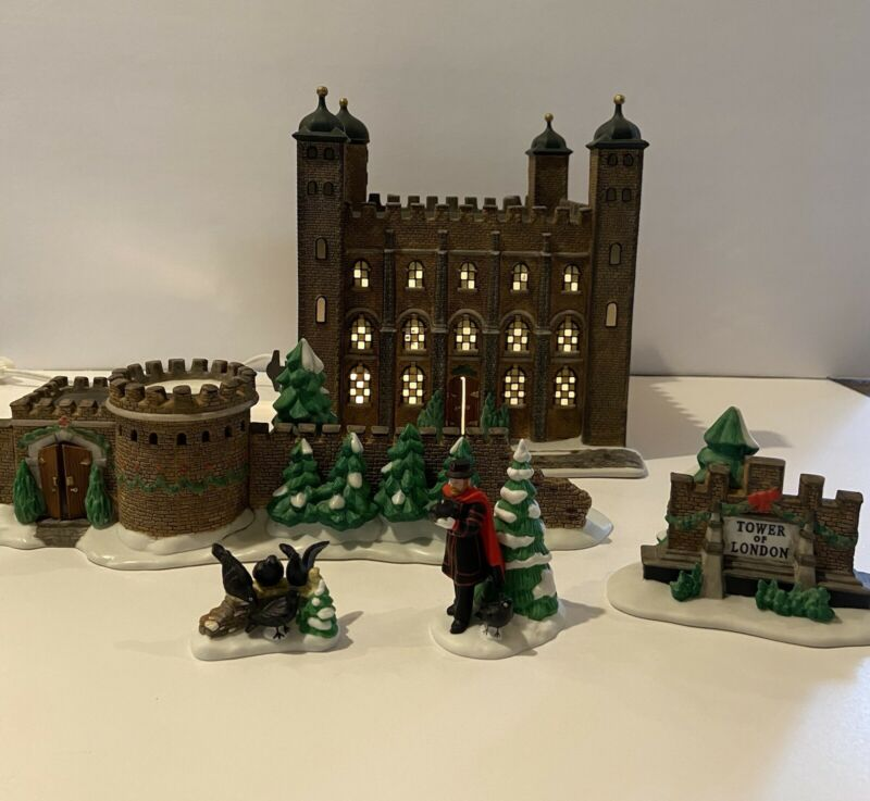 Dept 56 Dickens Village - Tower of London - Historical Landmark Series