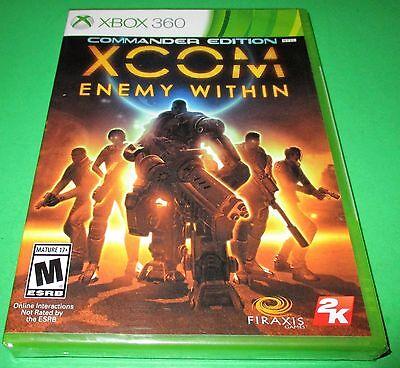 XCOM: Enemy Within - Commander Edition Microsoft Xbox 360 *New-Sealed-Free