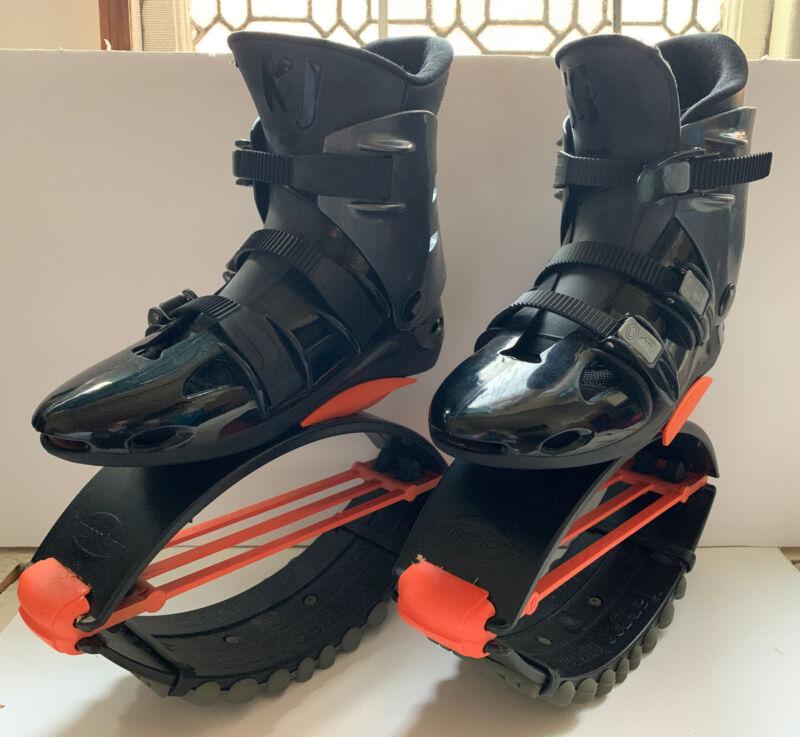 Kangoo Jumps KJ XR3 SE X-Rebound Boots Shoes Size M Black & Orange with bag