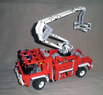 LEGO - TECHNIC - Fire Truck - #8289 - Used, Complete Karana Downs Brisbane North West Preview