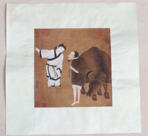 RARE CHINESE SILK PAINTING (A)