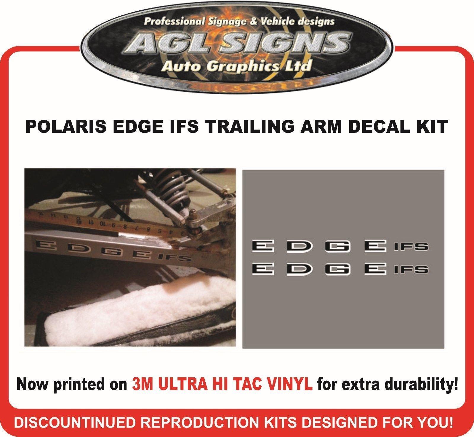 Polaris EDGE IFS Reproduction Trailing Arm Decals , graphics