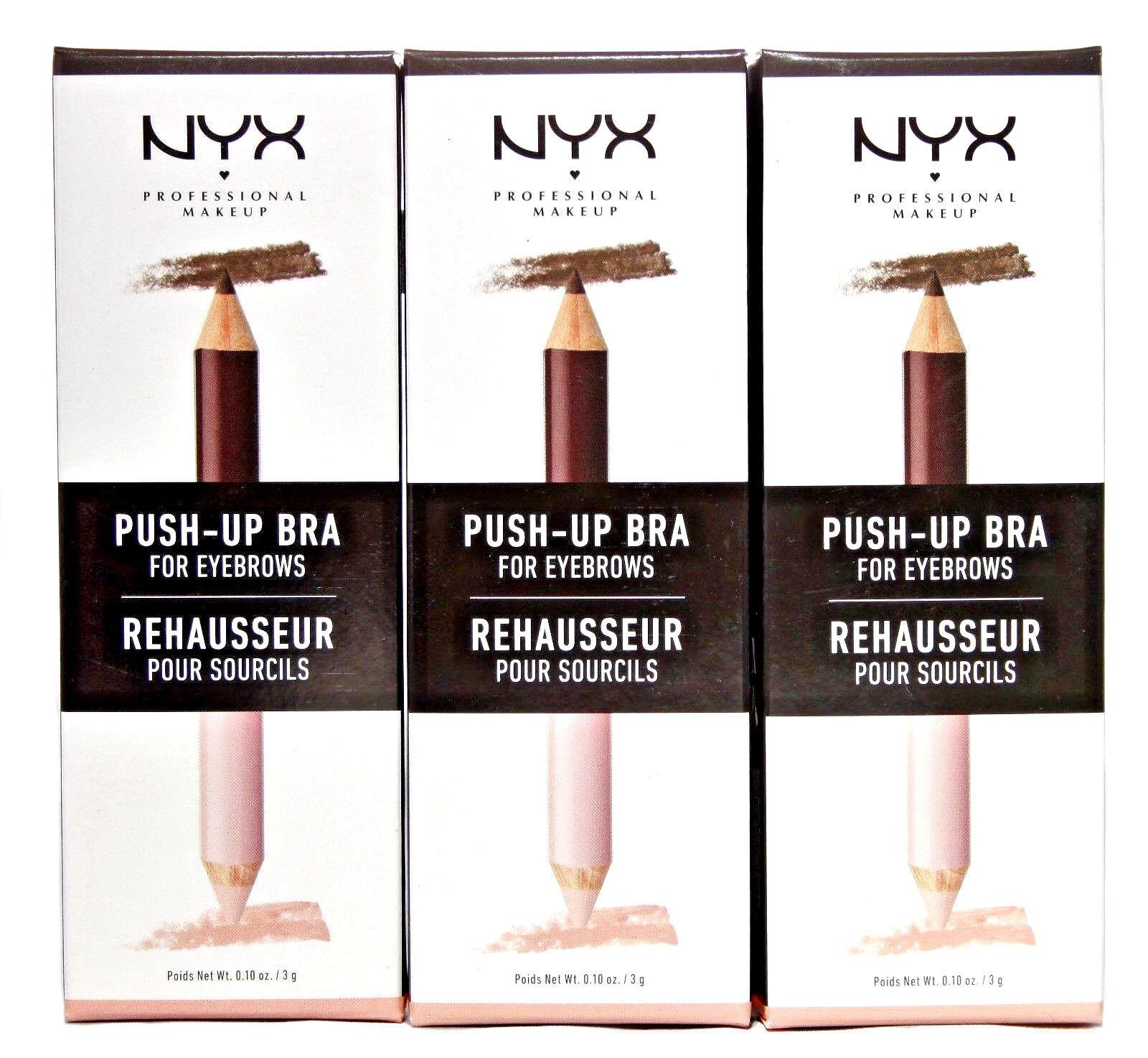 NYX Eye Brow Pencil+Highlighter Push-Up Bra For Eyebrows Bro