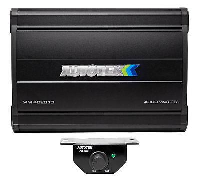 AUTOTEK MM4020.1D Mean Machine  4000 Watt Mono Amplifier Car Stereo Amp Class D