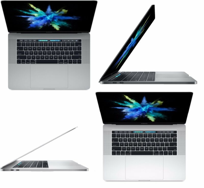 "Apple MacBook Pro 15.4"" 512GB 2.9GHz i7 TouchBar Touch Bar Space Gray or Silver"