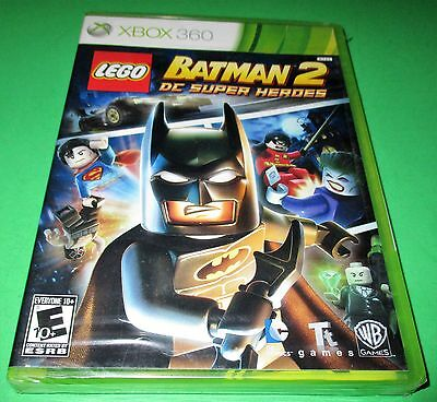 LEGO Batman 2: DC Super Heroes Microsoft Xbox 360 *Sealed-New-Free Shipping! for sale  Shipping to South Africa