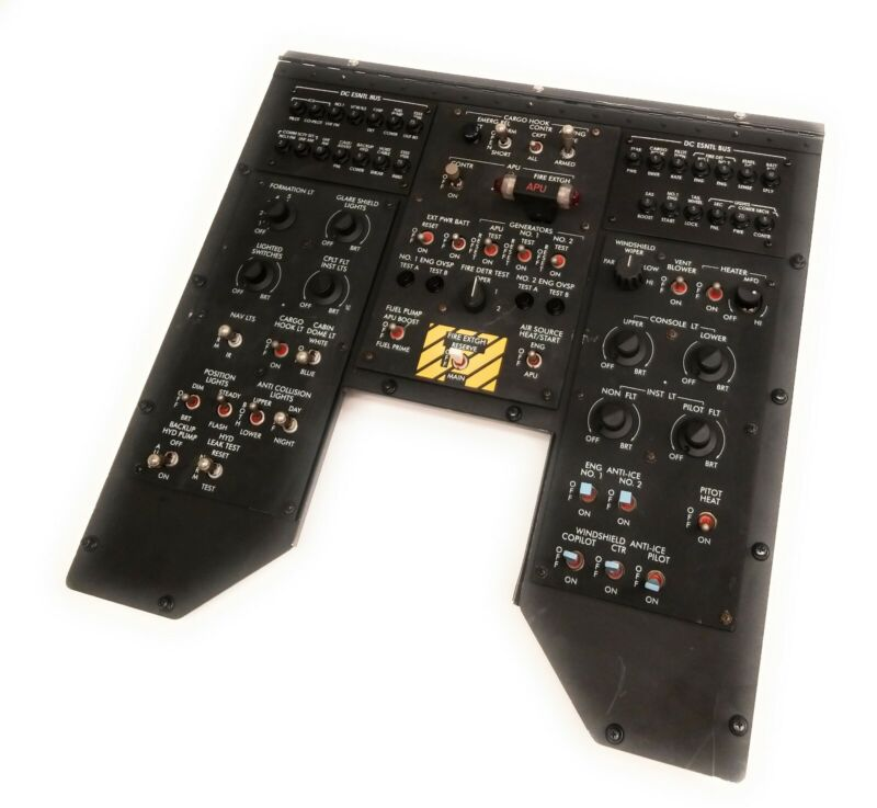 Helicopter Flight Simulator Control Board Assembly 81996 ASSY 1117777-10 0EFD0