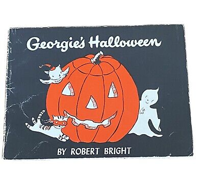 Vintage Book Georgie's Halloween By Robert Bright Paperback Soft Cover