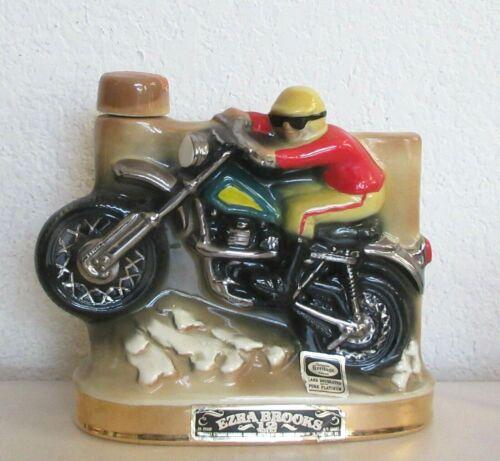 Ezra Brooks 1972 Motorcycle Decanter