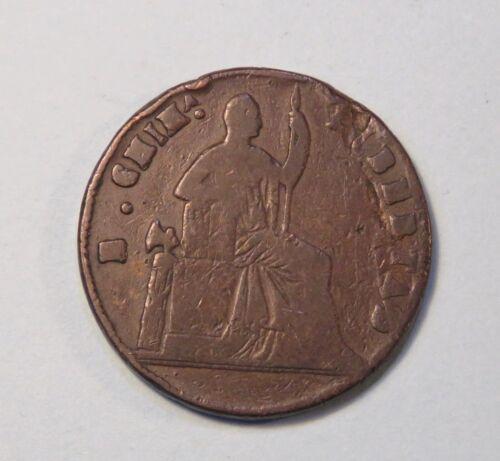 Mexico 1/4 Real 1865 Copper World Coin KM344 Chihuahua Chiha Libertad