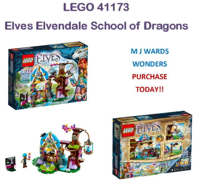 LEGO 41173 - Elves Elvendale School of Dragons ** PURCHASE TODAY **