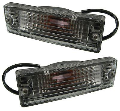 PAIR OF Clear front indicator light lamp upgrade kit Isuzu TF pickup truck