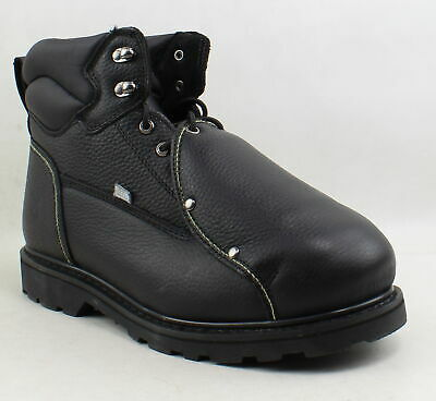 Iron Age Mens Black Work & Safety Boots Size 12 (Wide) (1090919)