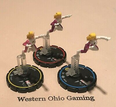 Cosmic Girl Games (Heroclix Saturn Girl #049 #050 #051 REV Set USED from Cosmic Justice)