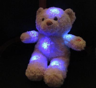 """Kuscheltier Bär mit Nachtlicht Einschlaftiere Größe ca.21cm """"einfach Süß"""" 45222"""