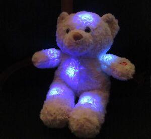 Kuscheltier Bär mit Nachtlicht Einschlaftiere Größe ca.21cm