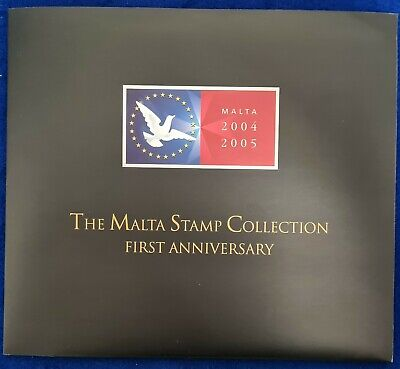 RR 2005 The Malta Stamp Collection First Anniversary collection + original Pouch