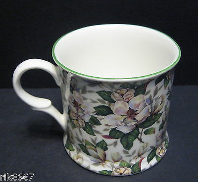 1 Magnolia  Small English Fine Bone China Mug Cup By Milton China Small Bone China