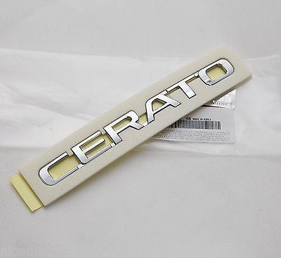 Genuine Cerato Lettering Trunk EMBLEM Badge 1Pcs For KIA Cerato Forte 2009 2017