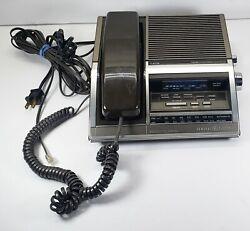 Vintage General Electric Phone Alarm Clock AM FM Radio Model 7- 4735A Works