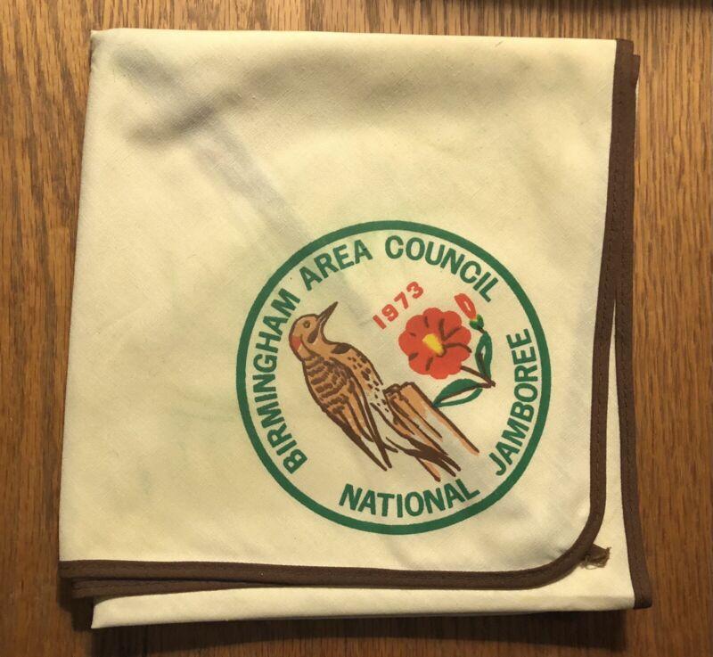 Birmingham Area Council 1973 National Jamboree neckerchief