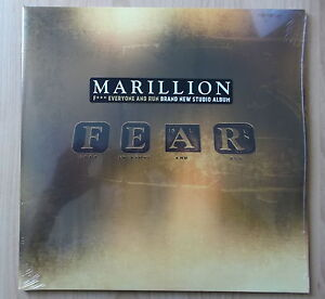 MARILLION 2LP: FEAR (2016, NEU; EAR MUSIC 0211265EMU)