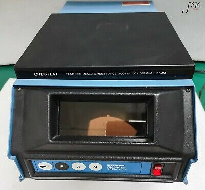 871 Speedfam Optical Flatness Measuring System Chek-flat
